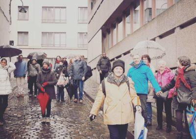 Visite de groupe à Bruxelles