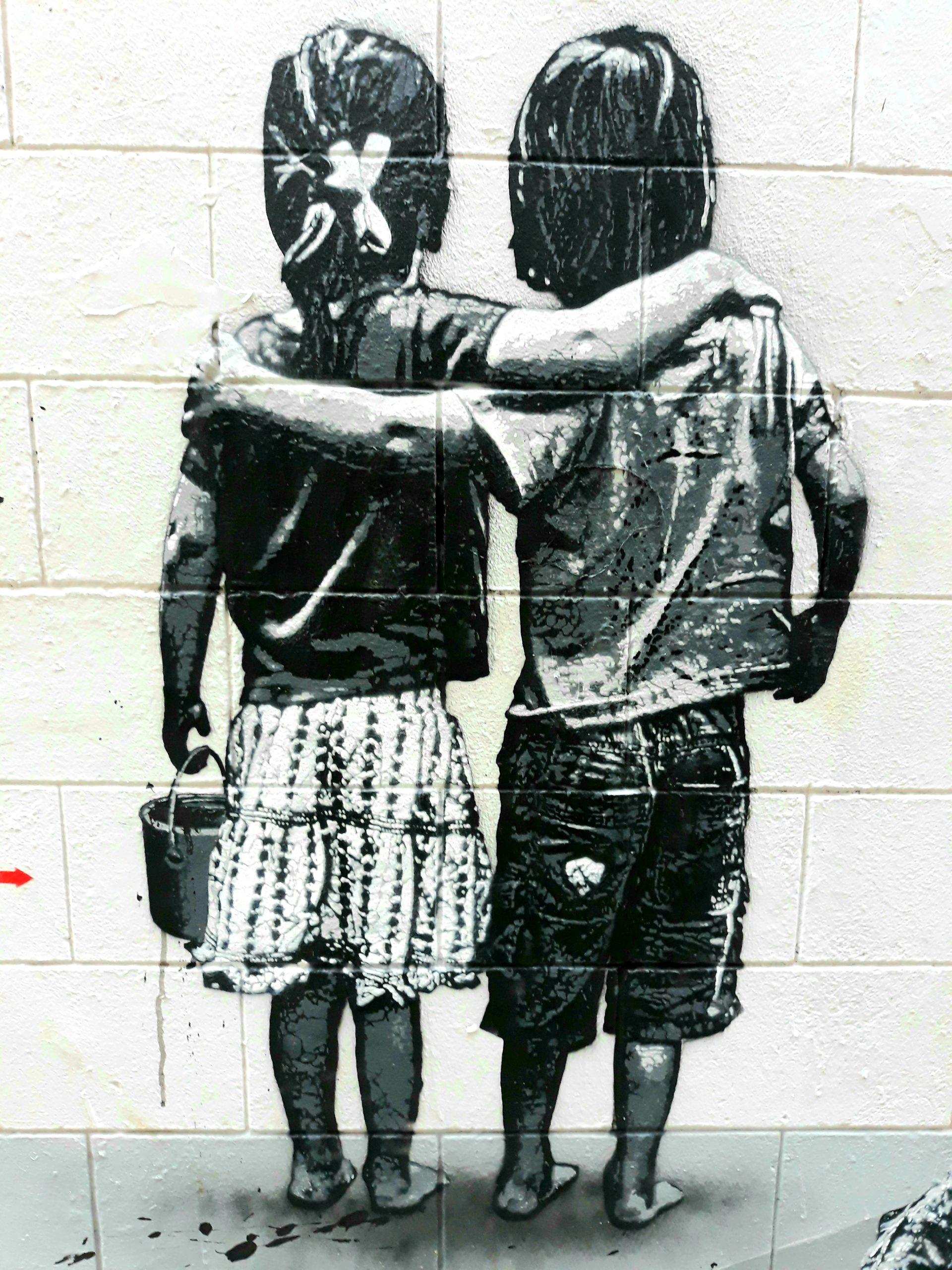 Street Art Marolles Jef Aerosol