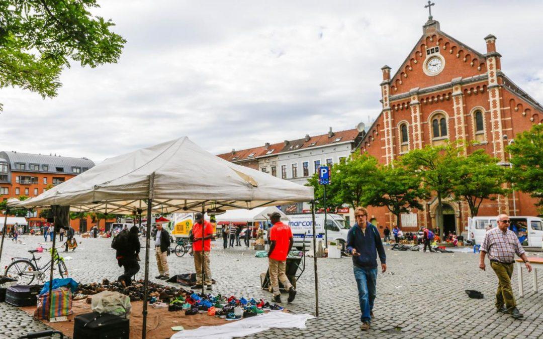 Place du Jeu de Balle - Vossenplein - Marolles