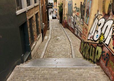 rue street art Bruxelles