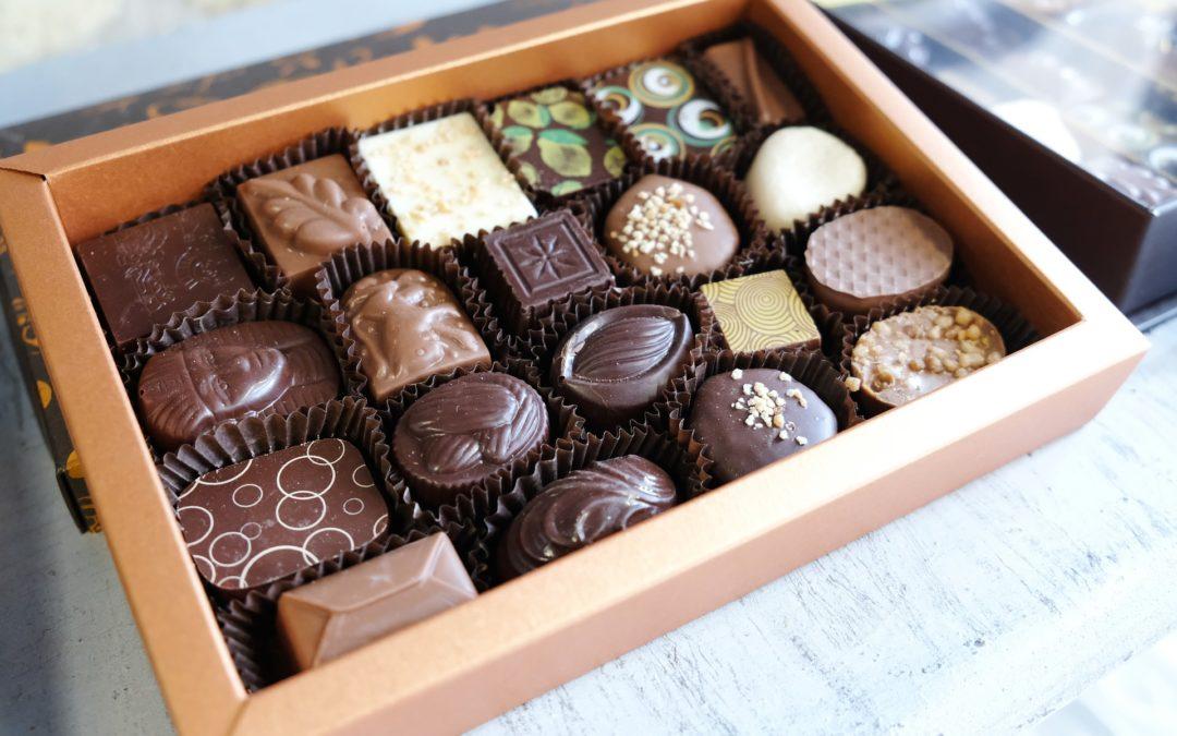1,5 kg de chocolat par minute