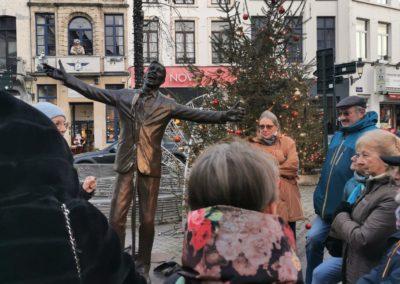 Statue de Jacques Brel