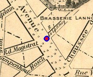 Avenue Louise, places Louise et Stéphanie