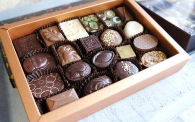 1,5 kg chocolade per minuut