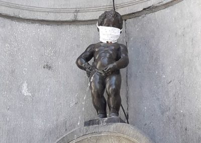 Mannekenpis masqué - Brussels By Foot