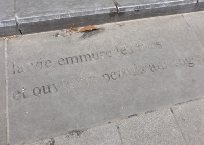 Passage Marguerite Yourcenar - Brussels by Foot