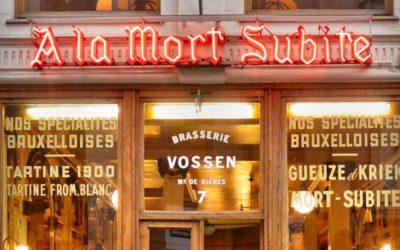 À la Mort Subite : Geschiedenis van een van de meest emblematische plaatsen in Brussel