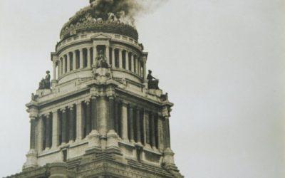 L'incendie du Palais de Justice