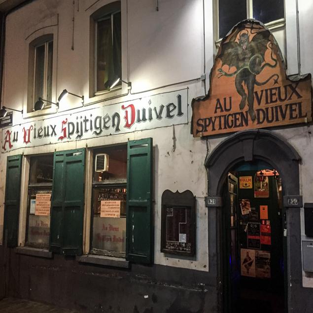 Le Vieux Spijtigen Duivel ou l'Ange devenu Démon