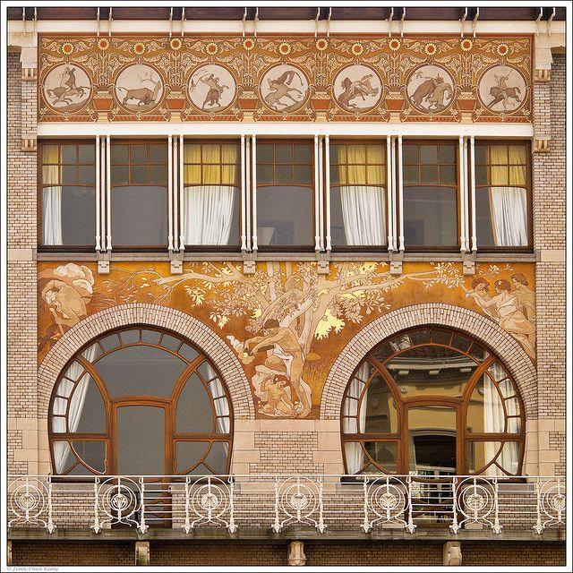 Hôtel Ciamberlani, of Paul Hankar